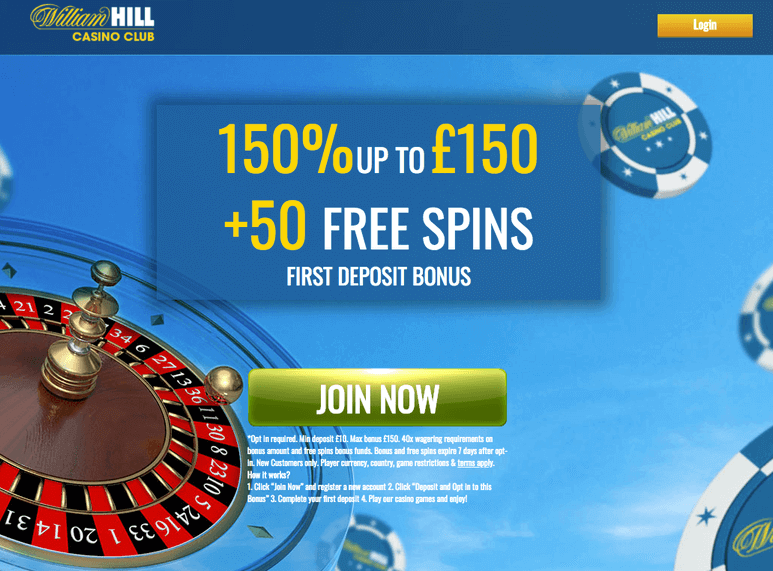 william hill casino club зеркало