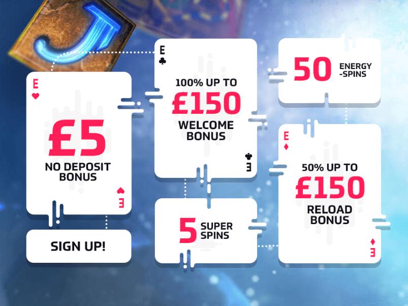 Energy Casino Promo Code 2019 Free Spins + No Deposit [EXCLUSIVE]