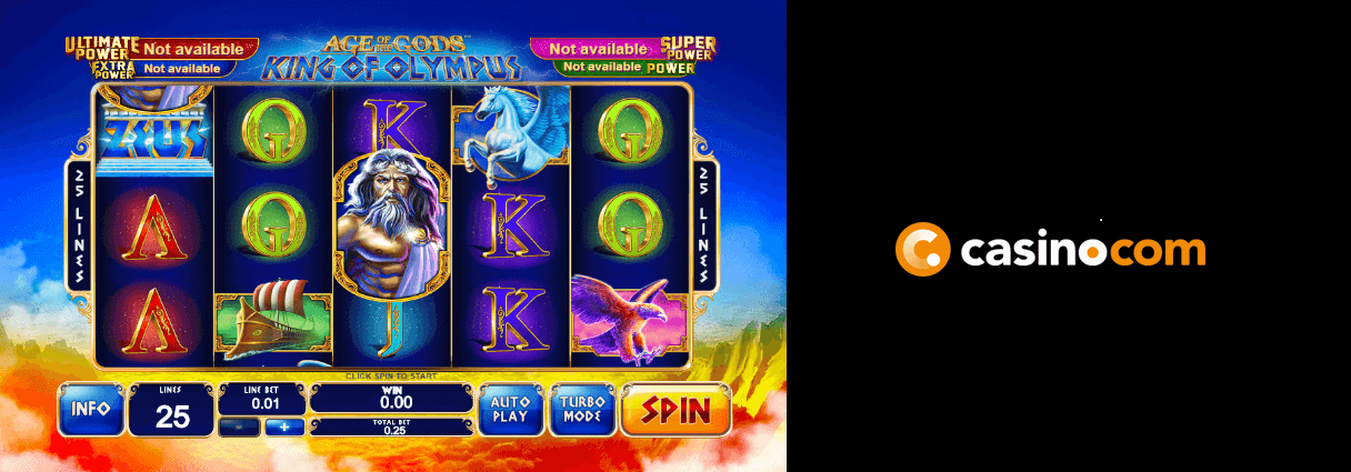 20 free spins age of gods